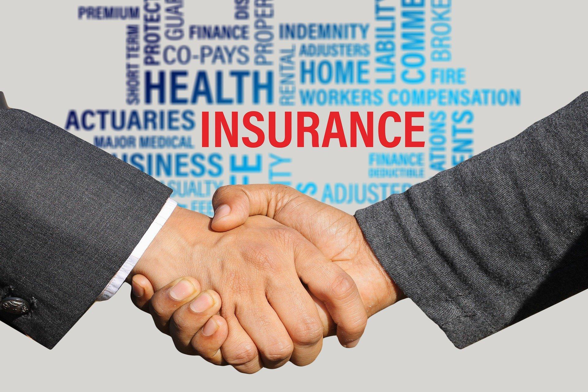 insurance hand